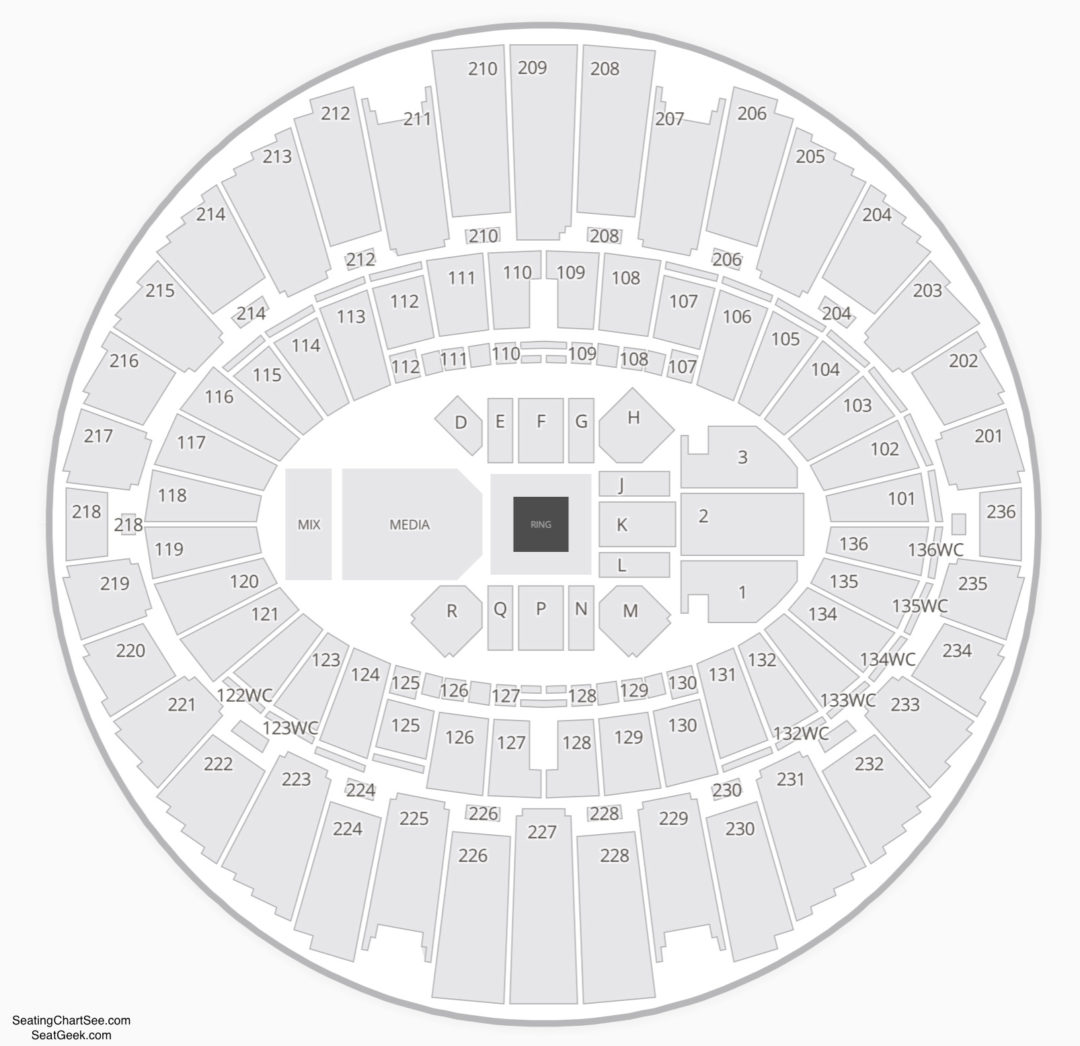 The Forum Inglewood Seating Chart Seating Charts Tickets
