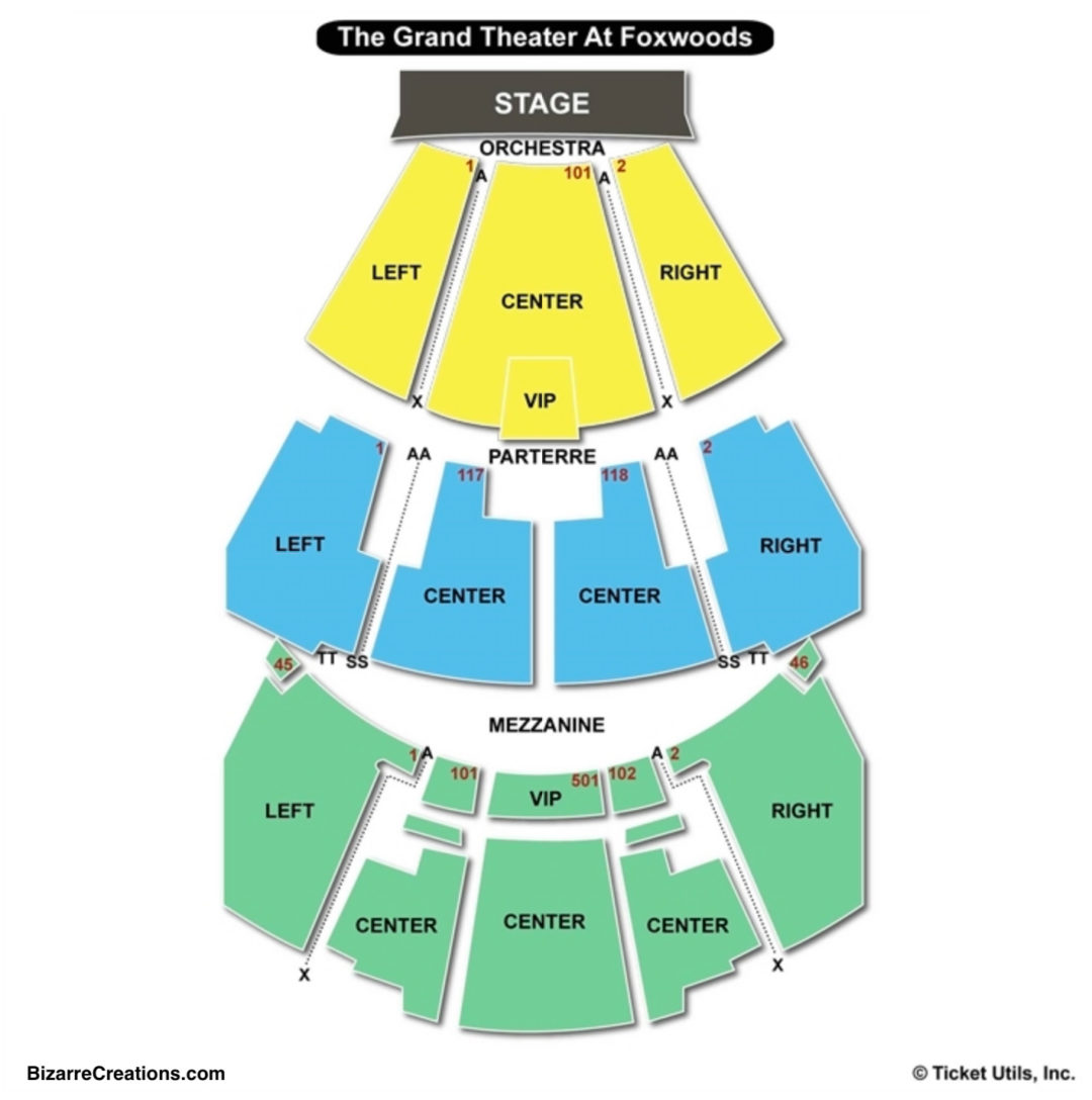 The Mgm Grand At Foxwoods Seating Chart Seating Charts Tickets