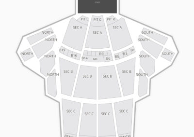 The Greek Theatre Seating Chart