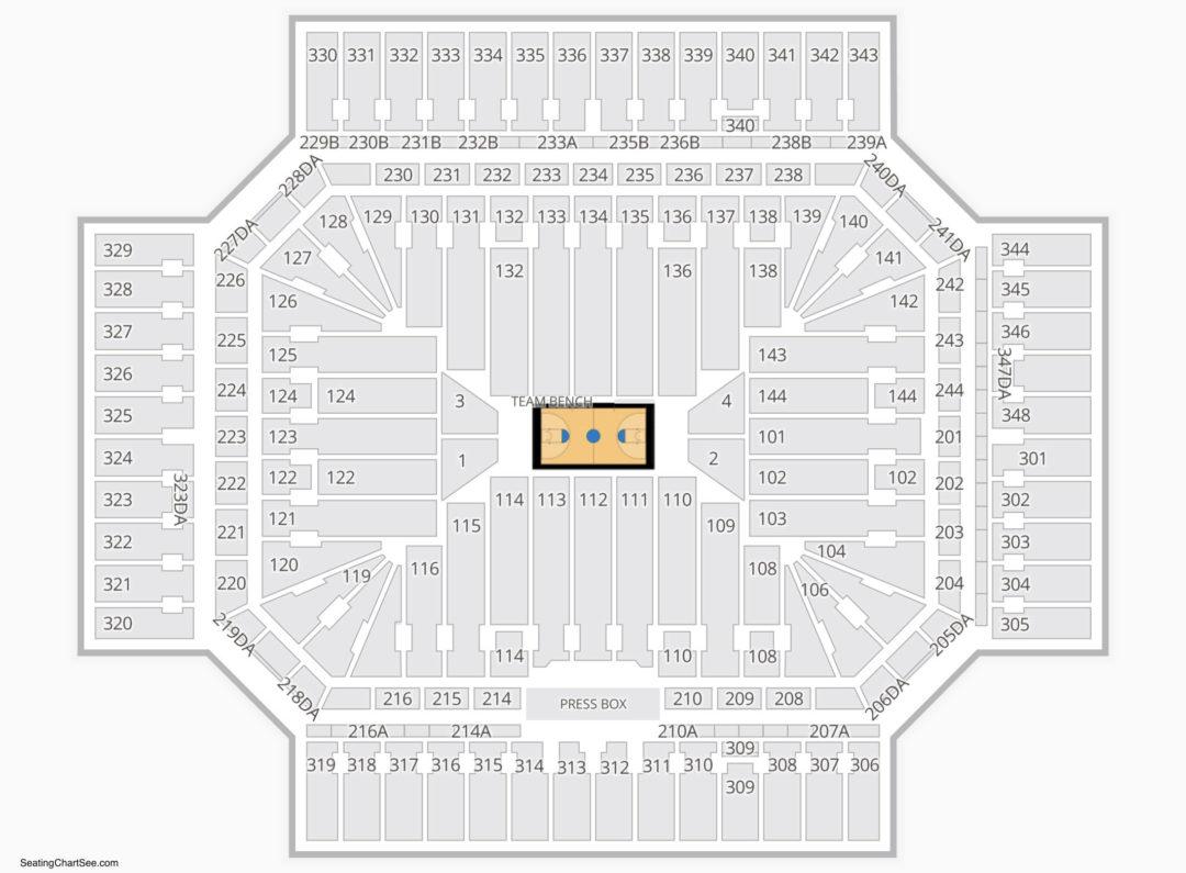 Alamodome Seating Chart Seating Charts Tickets