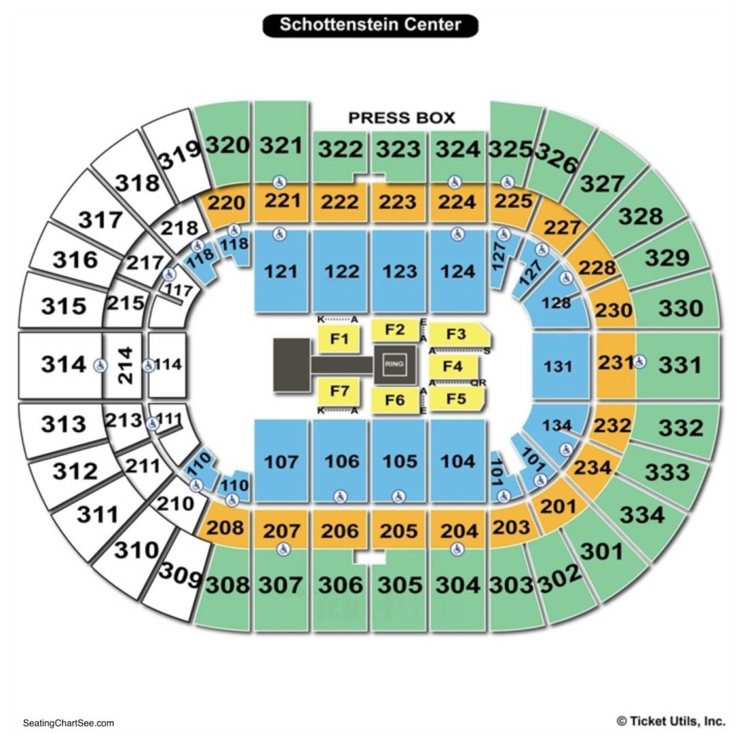 Value city arena schottenstein center seating chart seating