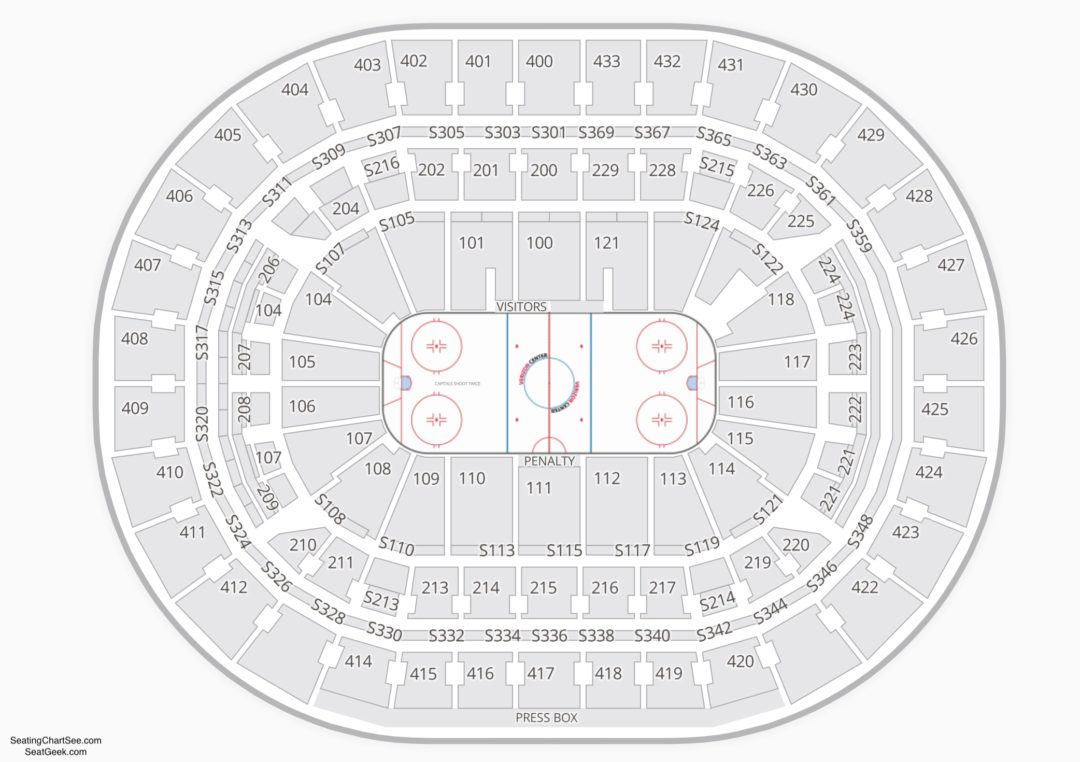 Capital One Arena Seating Chart Seating Charts Amp Tickets