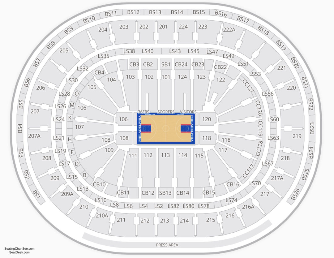 Wells Fargo Center Seating Chart Seating Charts Tickets