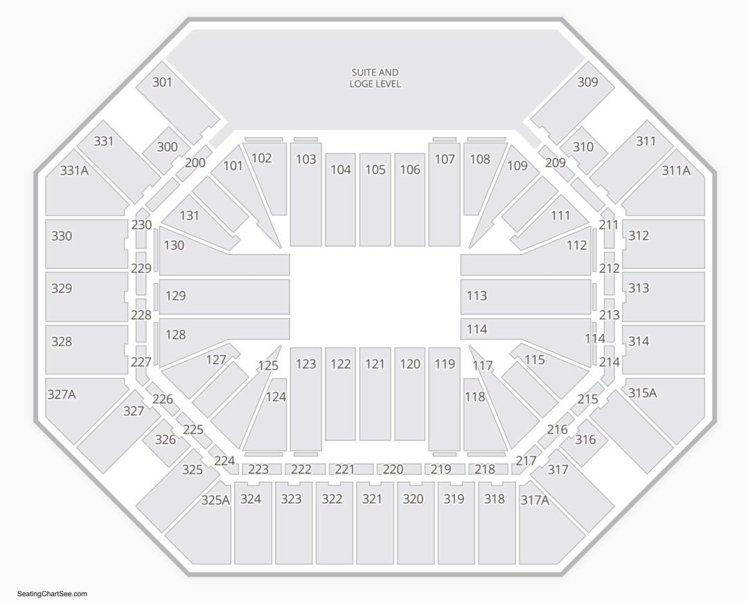 Thompson Boling Arena Seating Chart