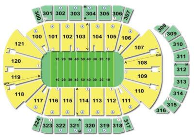 Image Result For Jacksonville Veterans Memorial Arena Map