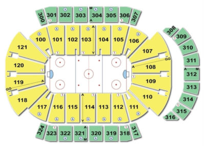 Jacksonville veterans memorial arena seating chart seating charts