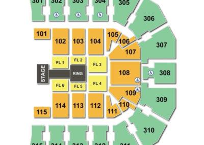 John Paul Jones Arena Seating Chart Wwe