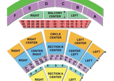 Mann center for the performing arts seating chart seating charts
