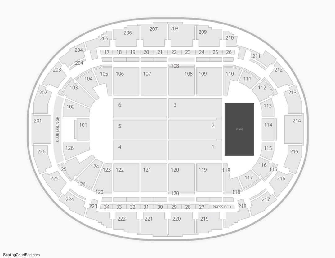 Snhu Arena Concert Seating Chart