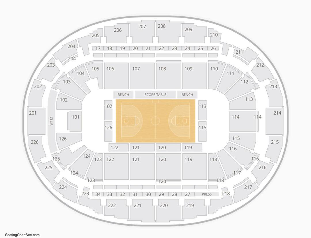 Snhu Arena Seating Chartna Chart