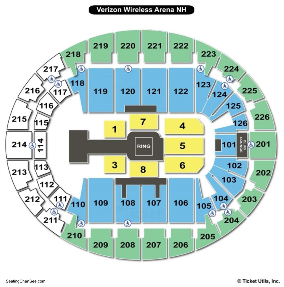 Snhu arena seating chart seating charts tickets