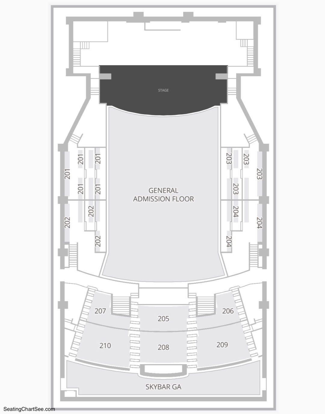 The paramount huntington seating chart seating charts tickets