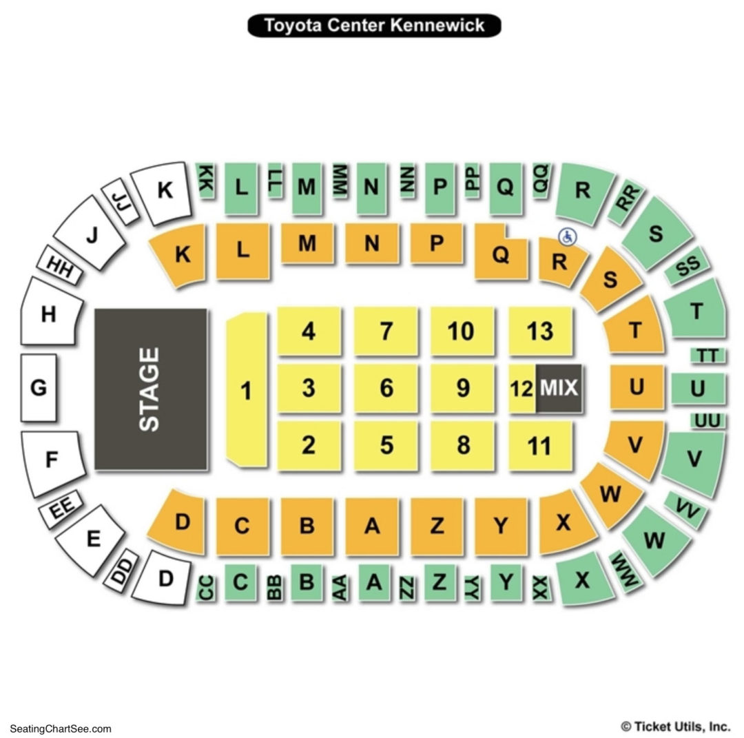 Toyota Center Kennewick Concerts Www Michaels Crafts