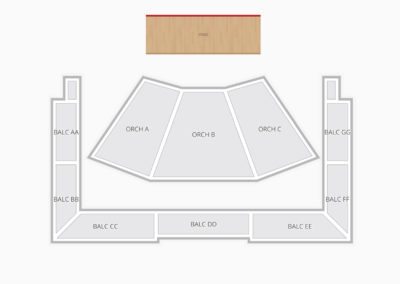 Wells Fargo Center For The Arts Luther Burbank Seating Chart