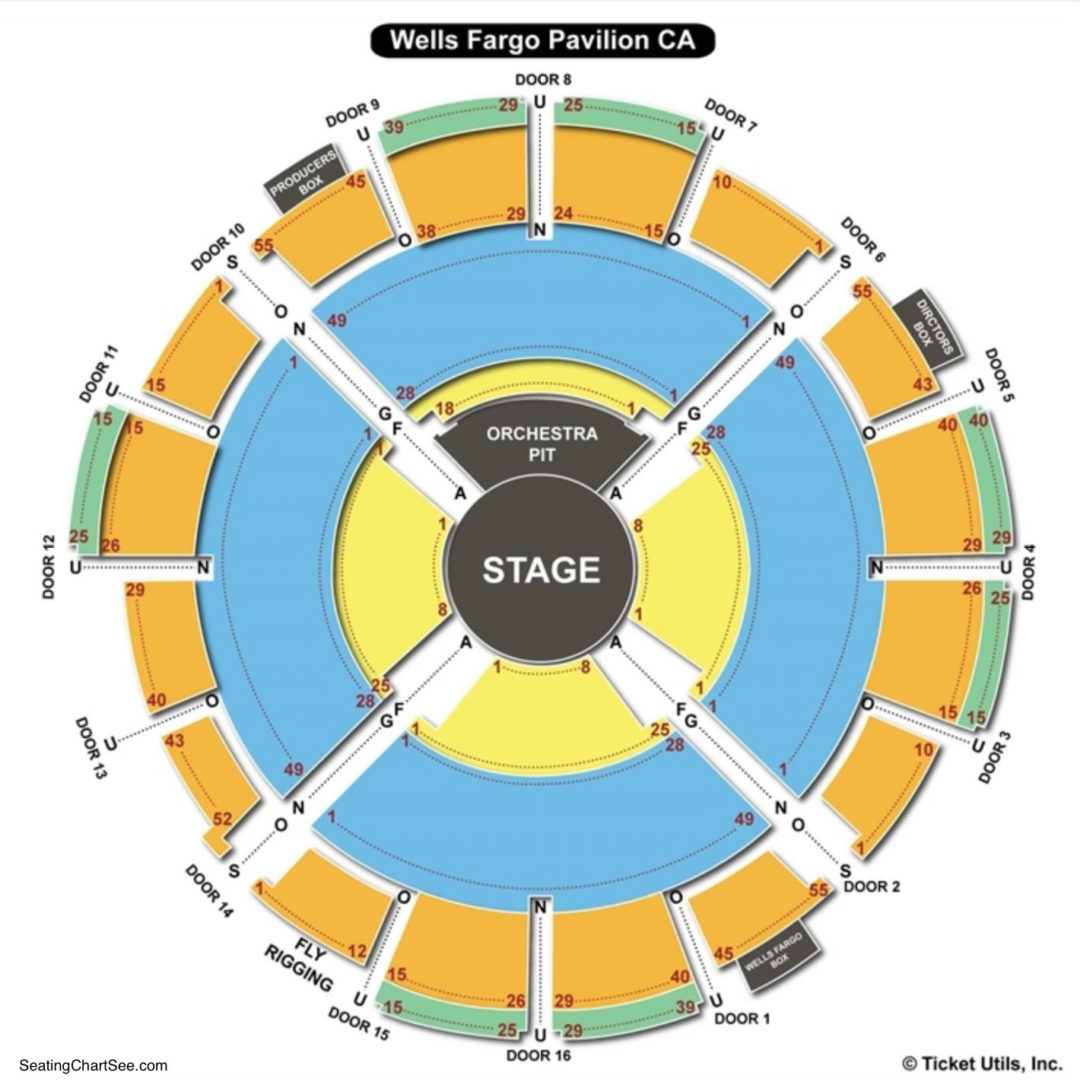 Pnc Music Pavilion Interactive Seating Chart Quotes Of The Day
