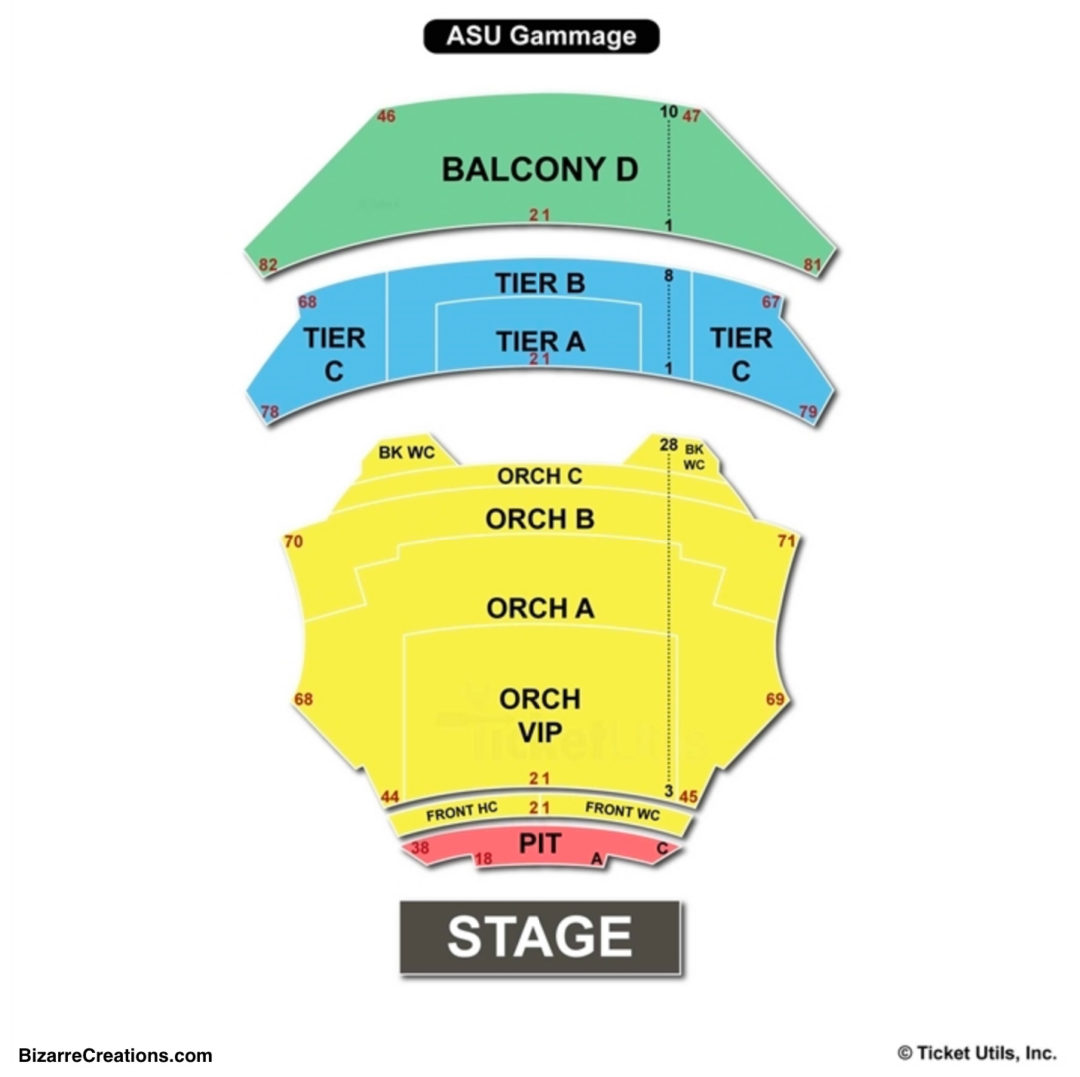 Asu Gammage Seating Chart