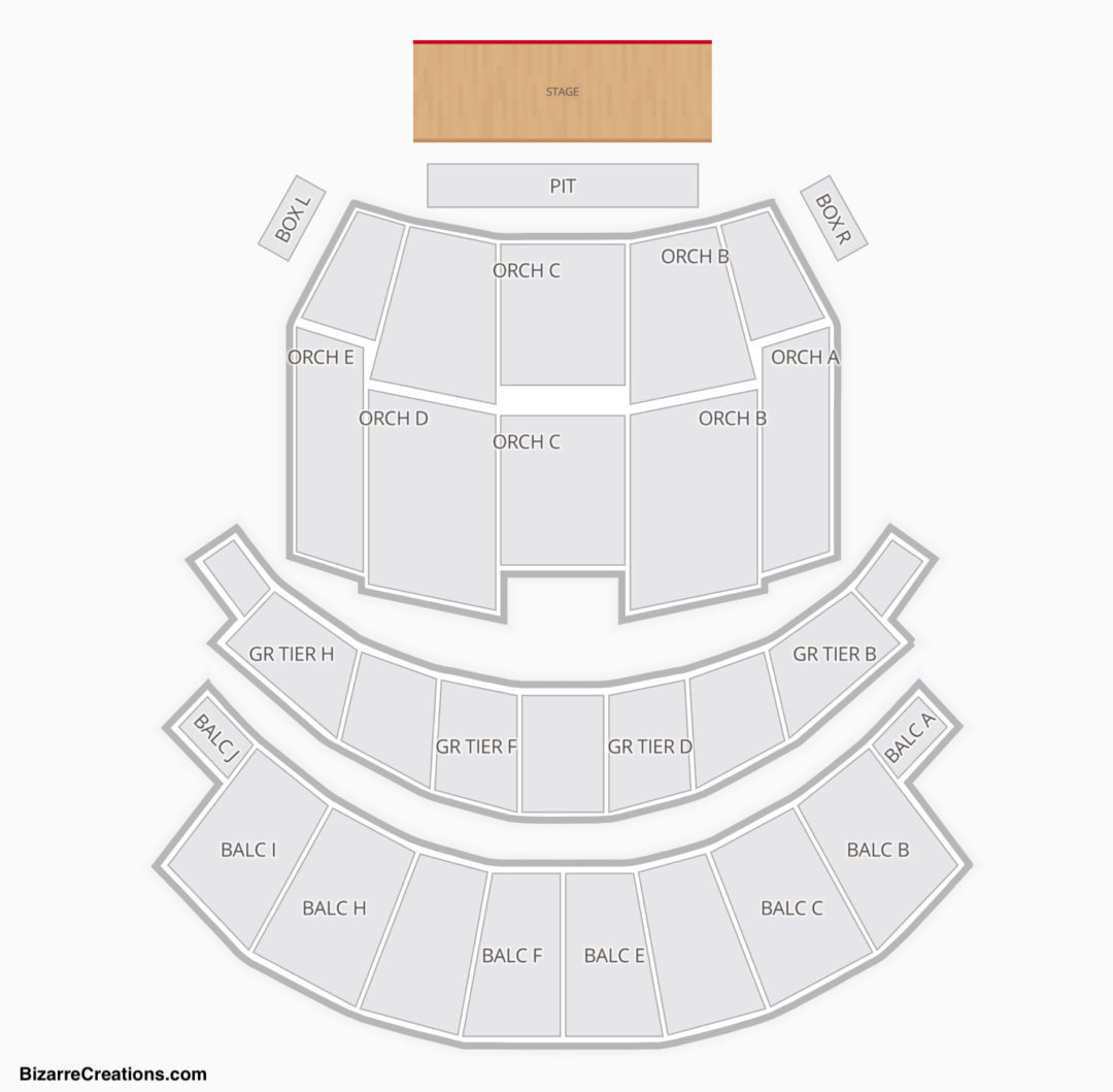 Altria Theater Seating Chart