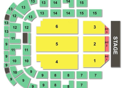 Bell Auditorium Seating Chart Charts Tickets