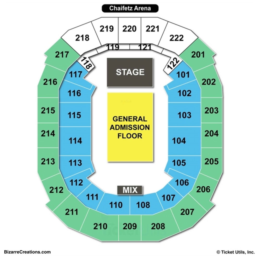 Chaifetz arena seating chart seating charts tickets