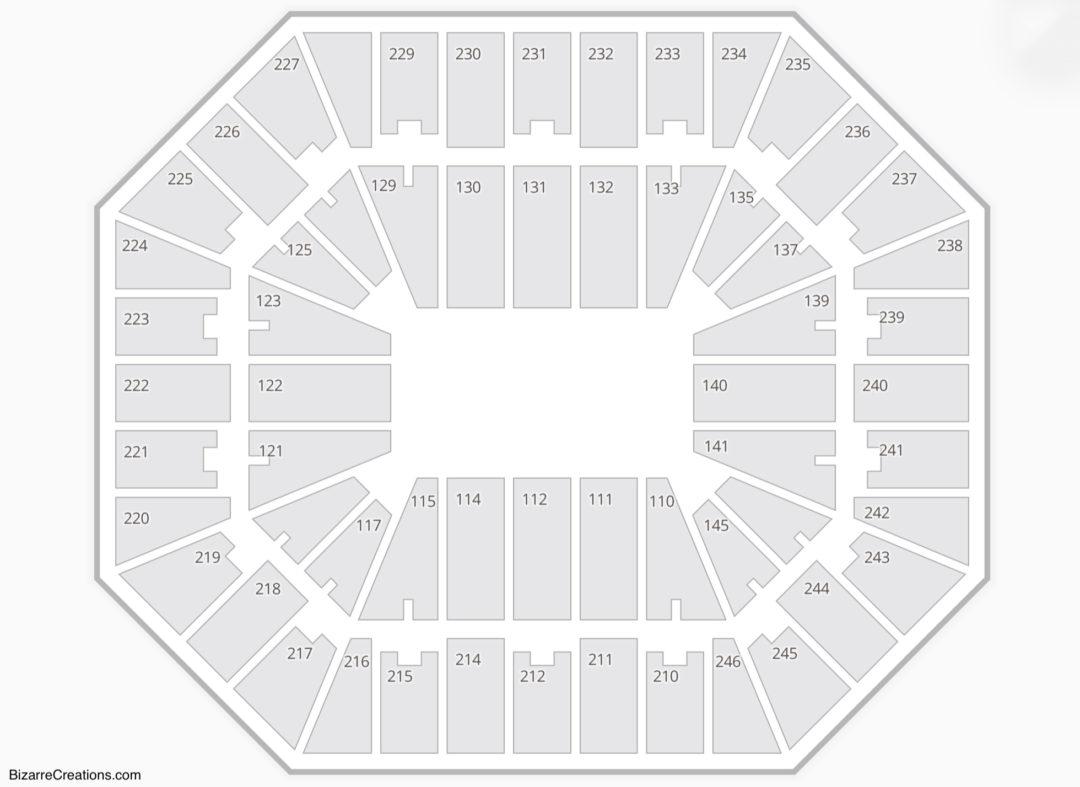 Charleston Civic Center Seating Chart