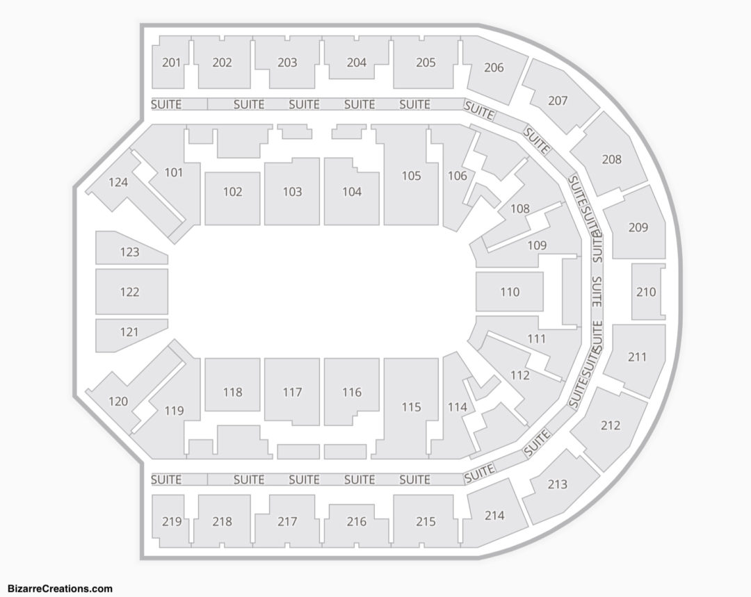Denny Sanford Premier Center Seating Chart Seating