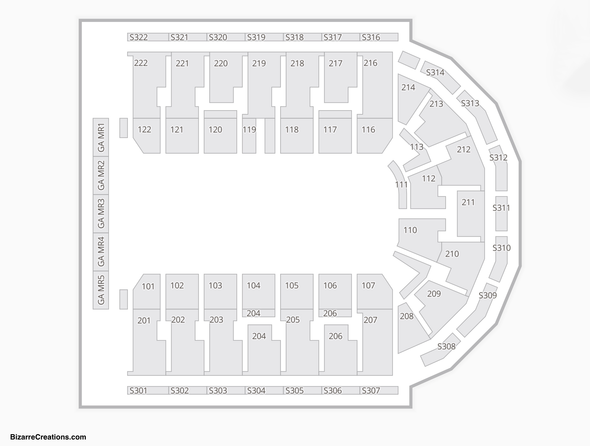 Erie Insurance Arena Seating Chart