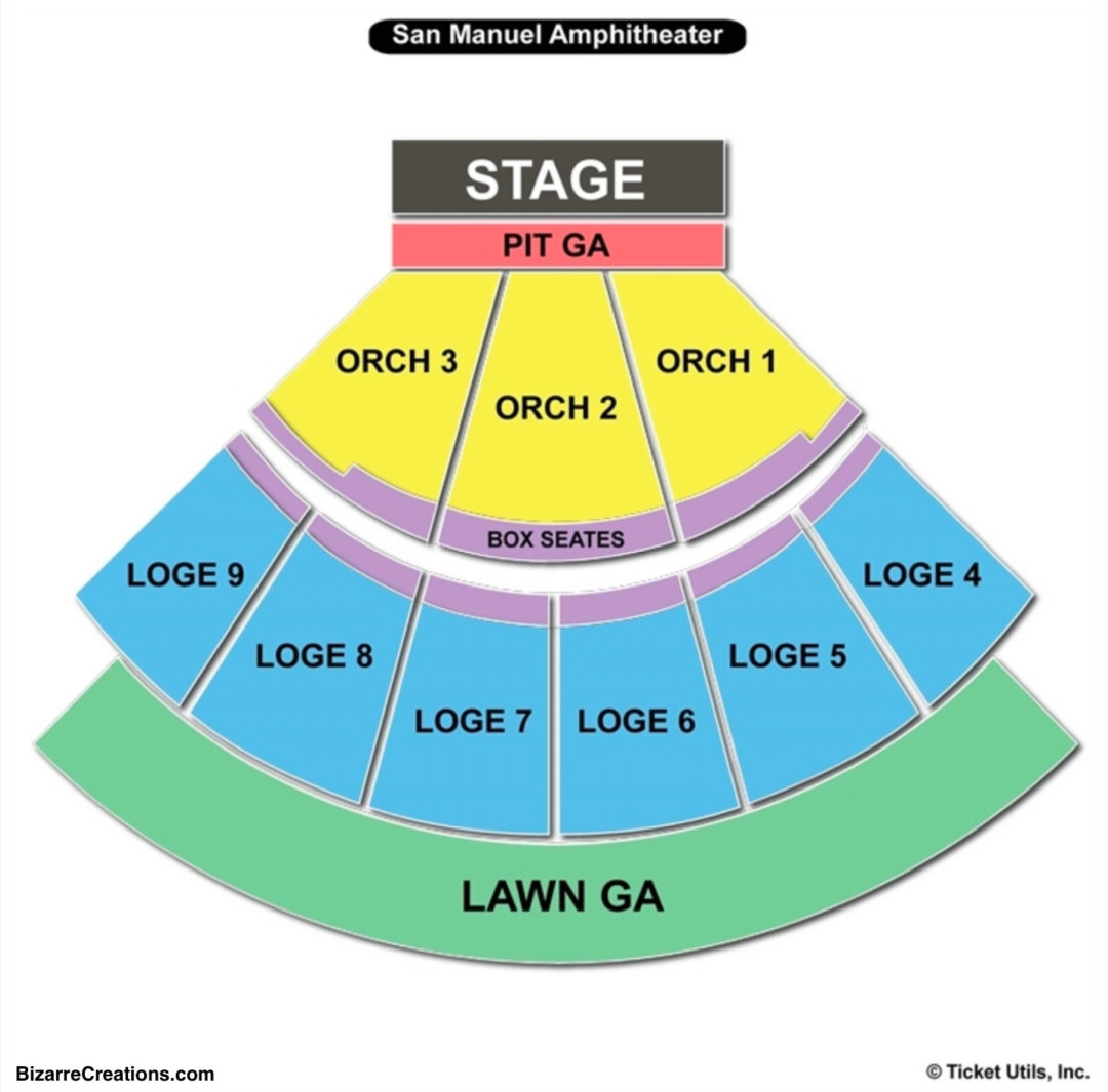 Glen Helen Amphitheater Seating Chart | Seating Charts & Tickets on red rock amphitheater map, san manuel stadium seating chart, san manuel concerts, sandia casino amphitheater map, san manuel ampitheatre, san manuel arizona map, red hat amphitheater map, nationwide arena map, isleta amphitheater map,