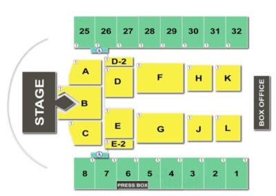 Hersheypark Stadium Seating Chart
