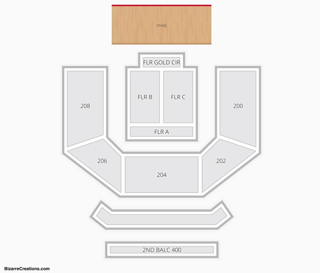 House Of Blues – Las Vegas Seating Chart