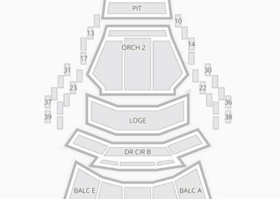 Mahaffey theater seating chart seating charts tickets