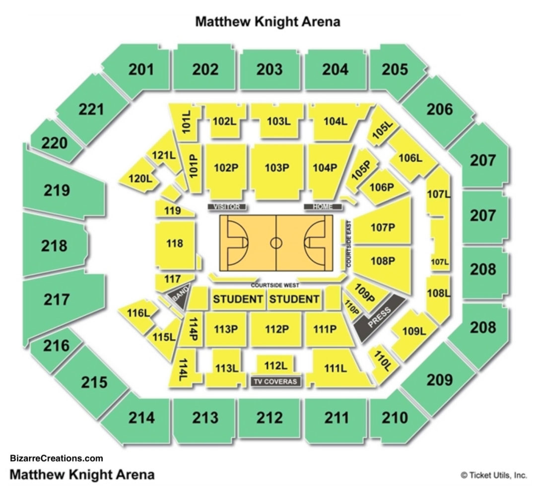 Matthew knight arena seating chart seating charts tickets