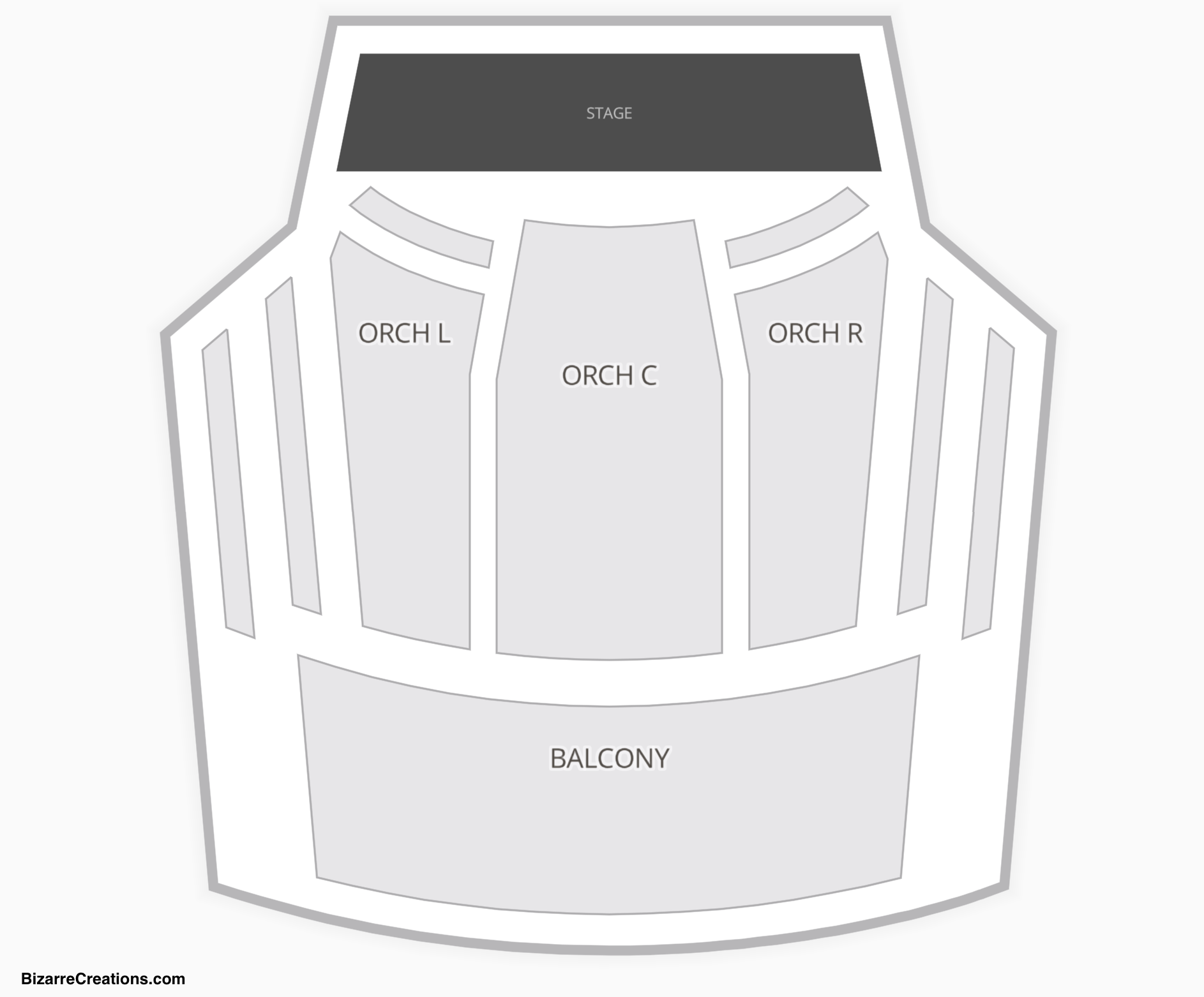 New Jersey Performing Arts Center Seating Chart Seating Charts