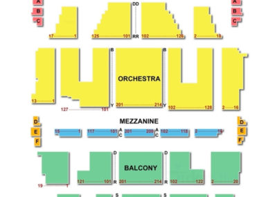 Orpheum Theatre Boston Seating Chart