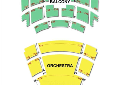Overture Center Seating Chart Capitol Theater