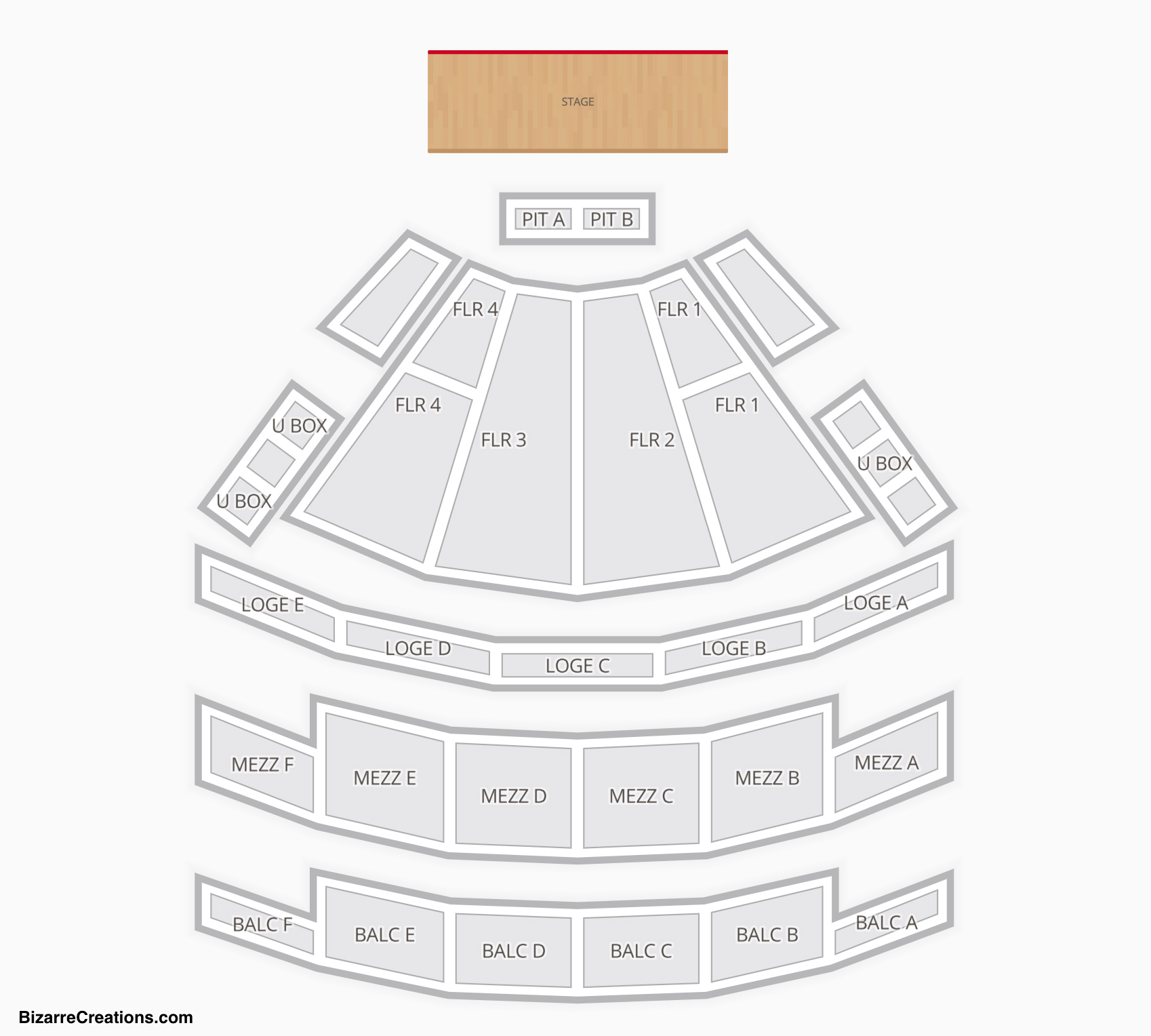 Palace Theatre Columbus Seating Chart | Seating Charts ...