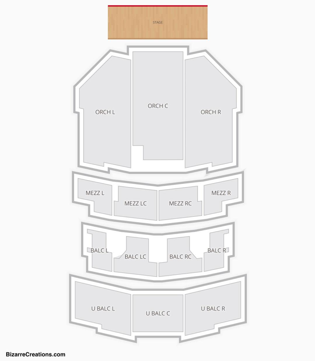 Paramount Theatre Seating Chart Austin