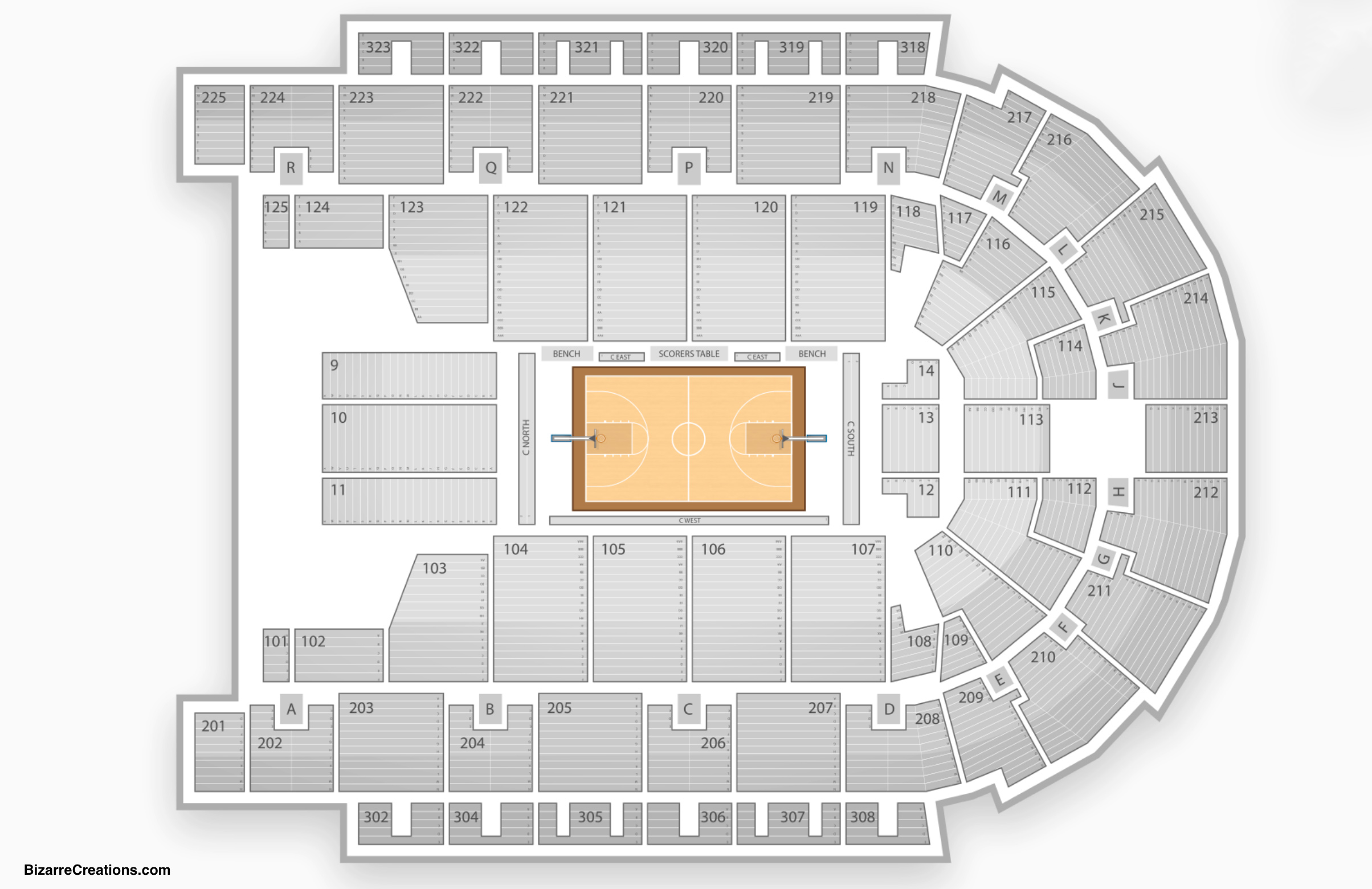 Boardwalk Hall Seating Chart Seating Charts Amp Tickets
