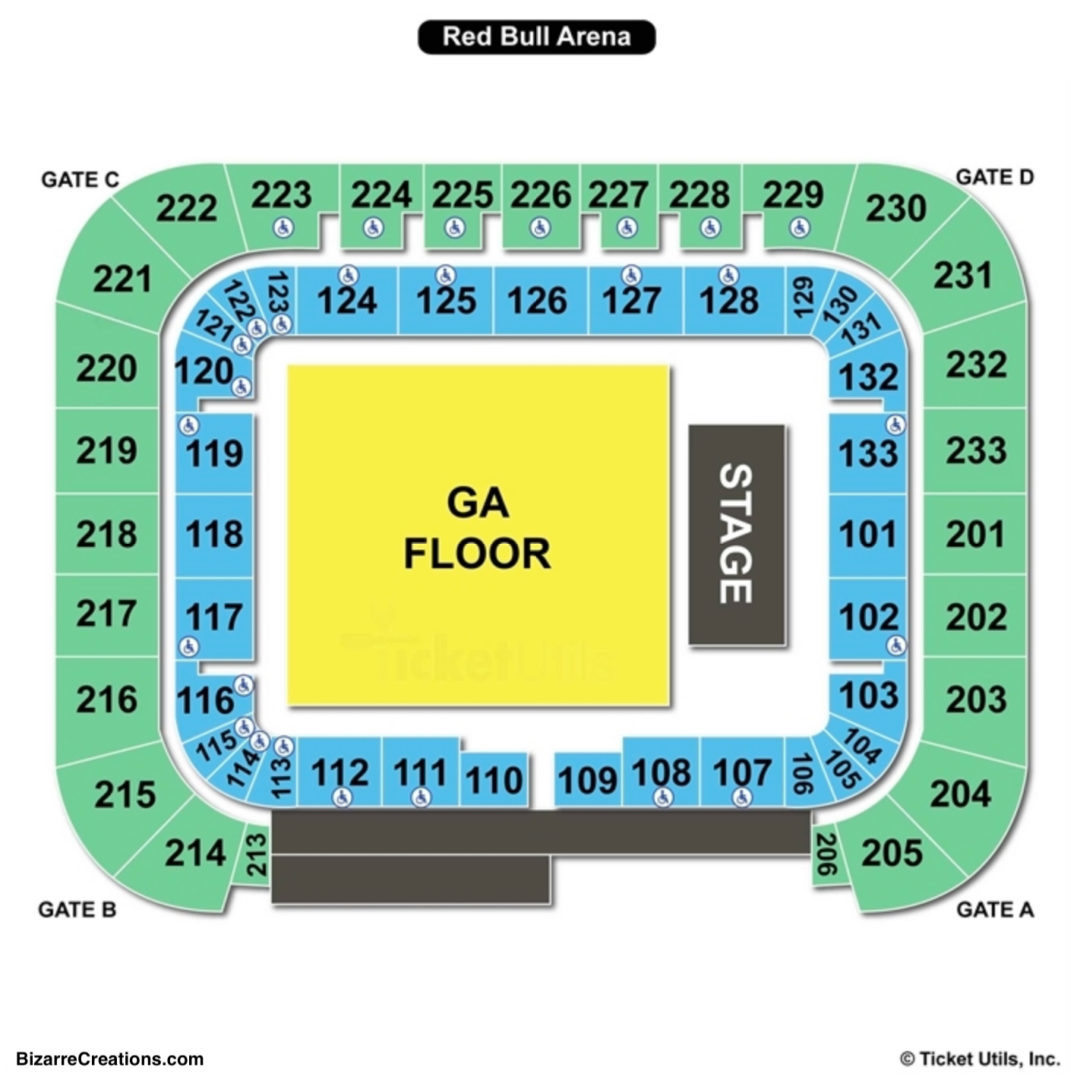 Red Bull Arena Seating Chart Seating Charts Tickets