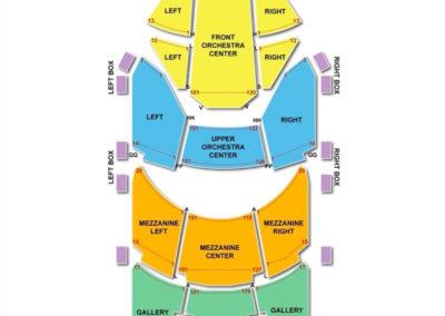 Sarofim Hall Seating Chart The Hobby Center