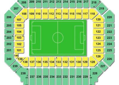 Stanford Stadium Seating Chart Soccer
