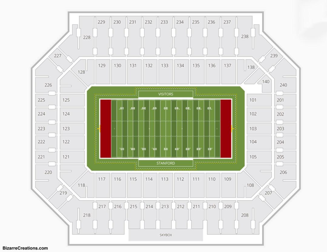 Stanford Stadium Seating Chart