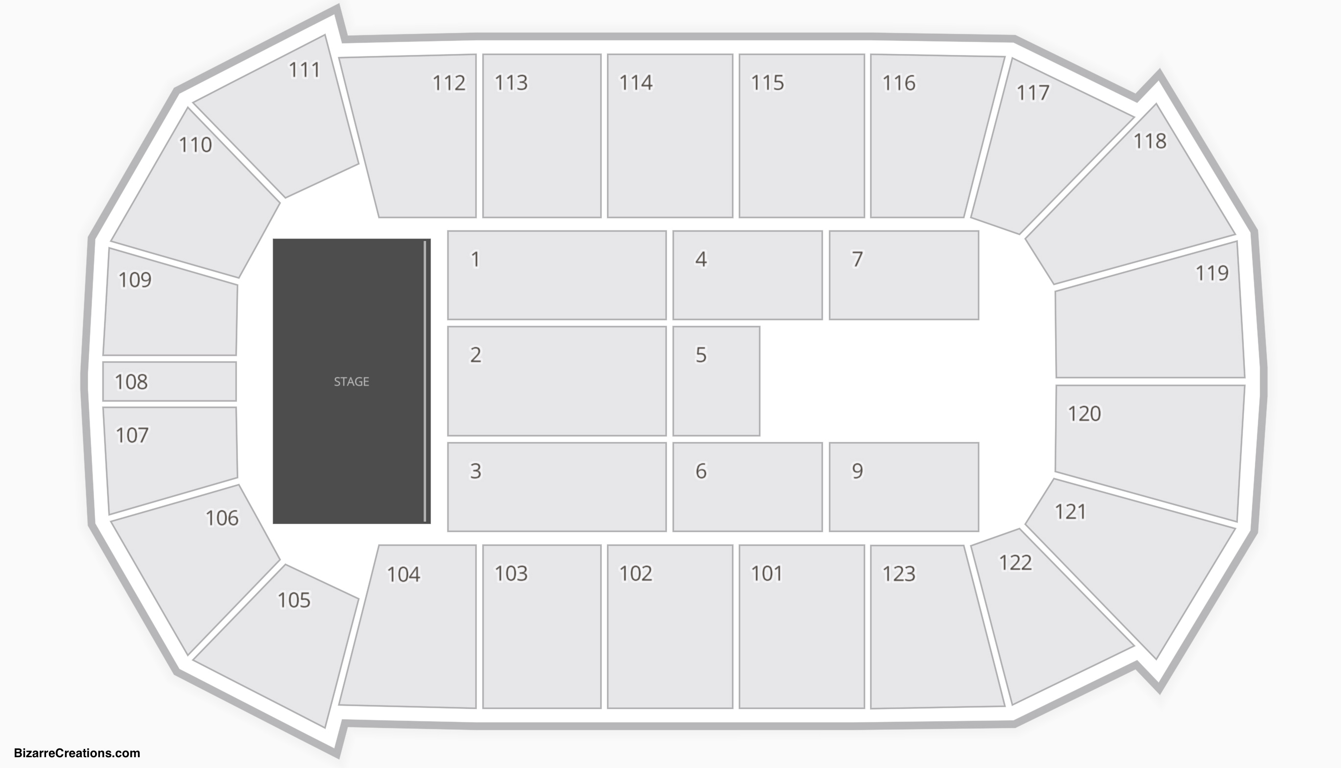 State Farm Arena Seating Chart Seating Charts Tickets
