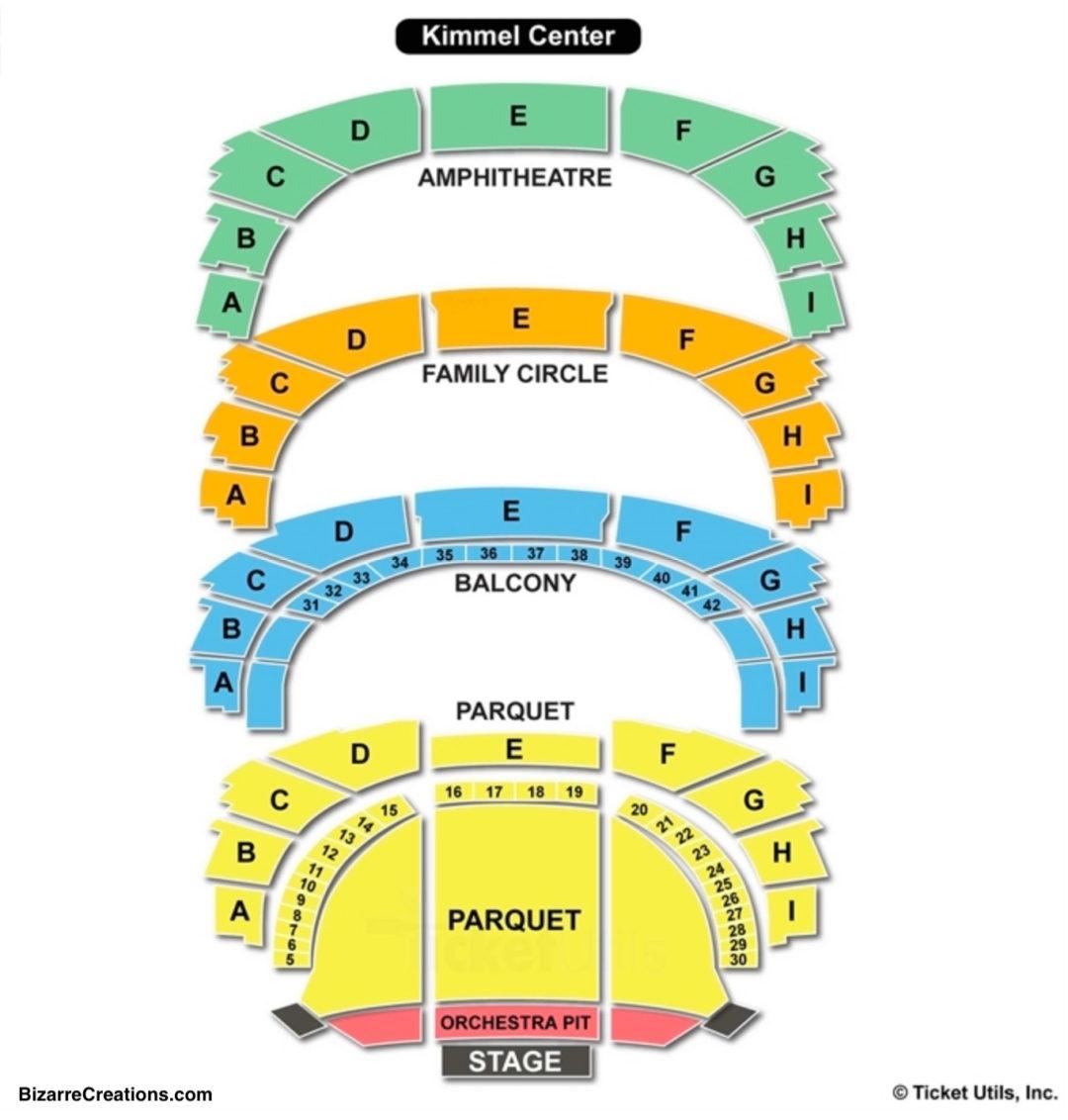 Verizon Hall At The Kimmel Center Seating Chart | Seating Charts & Tickets