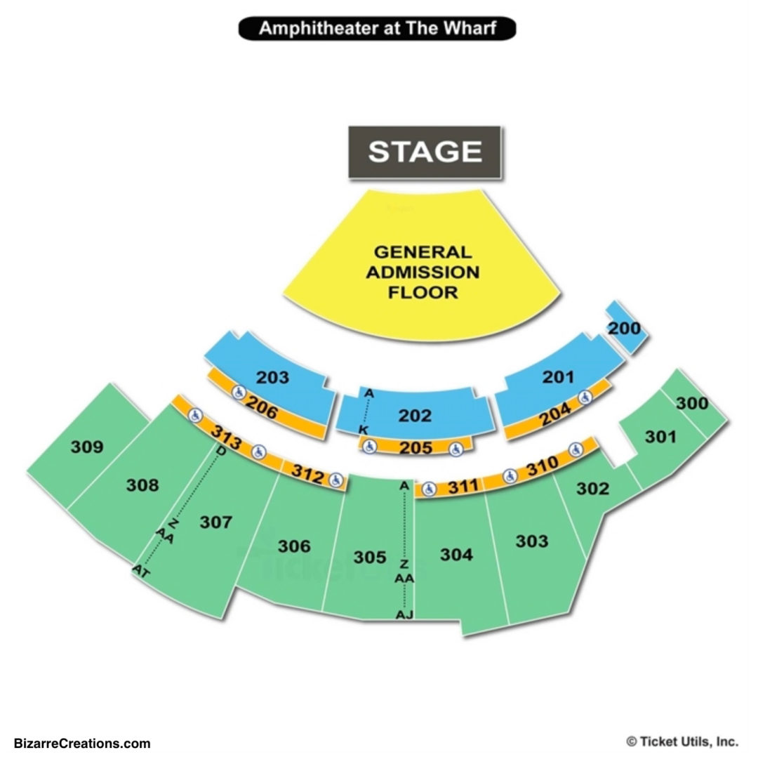 The Wharf Amphitheatre Seating Chart Thelifeisdream