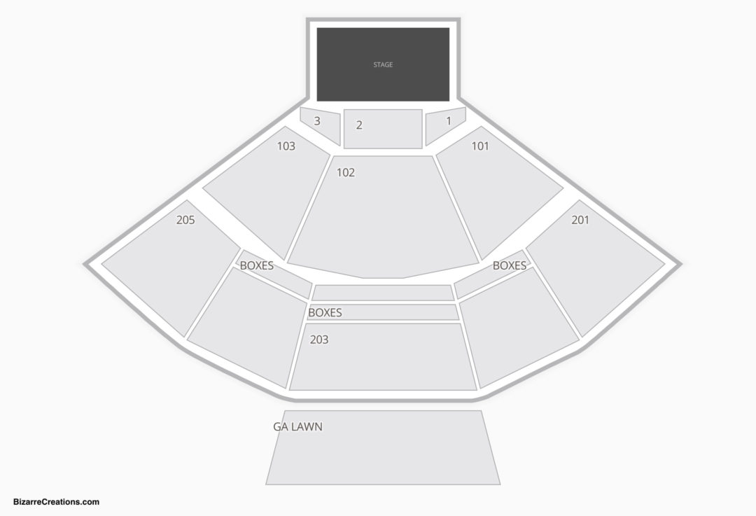Veterans United Home Loans Amphitheater Seating Chart Concert