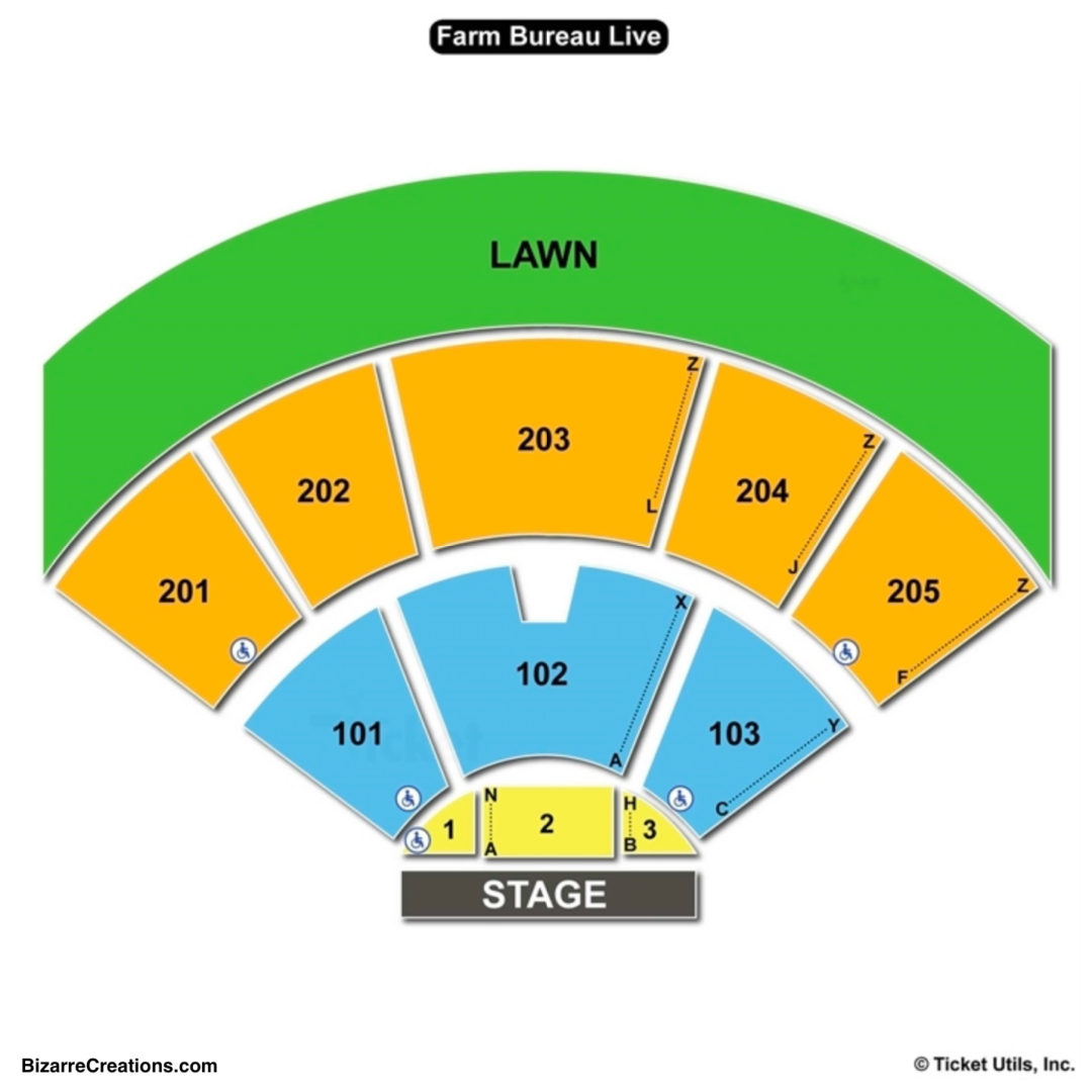 Veterans united home loans amphitheater seating chart seating