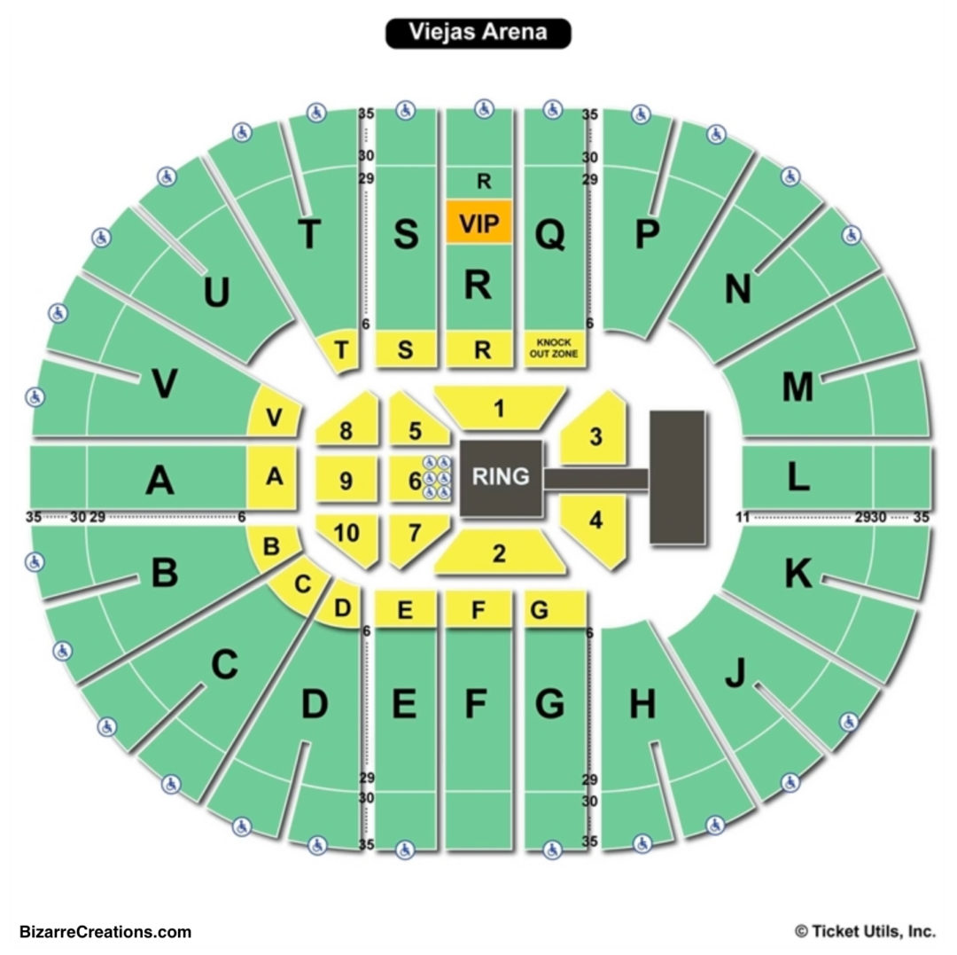 Viejas arena seating chart seating charts tickets