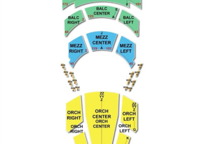 Walt Disney Theater At Dr Phillips Center Seating Chart