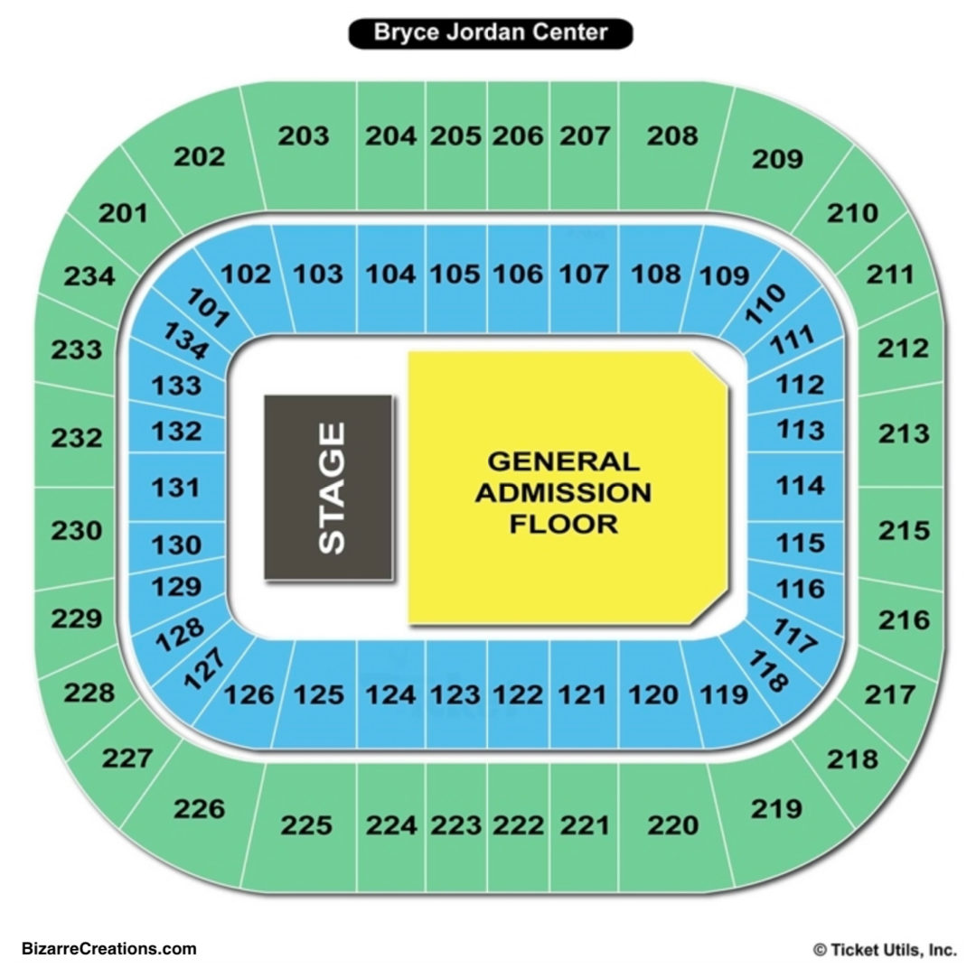 Bryce jordan center seating chart seating charts tickets