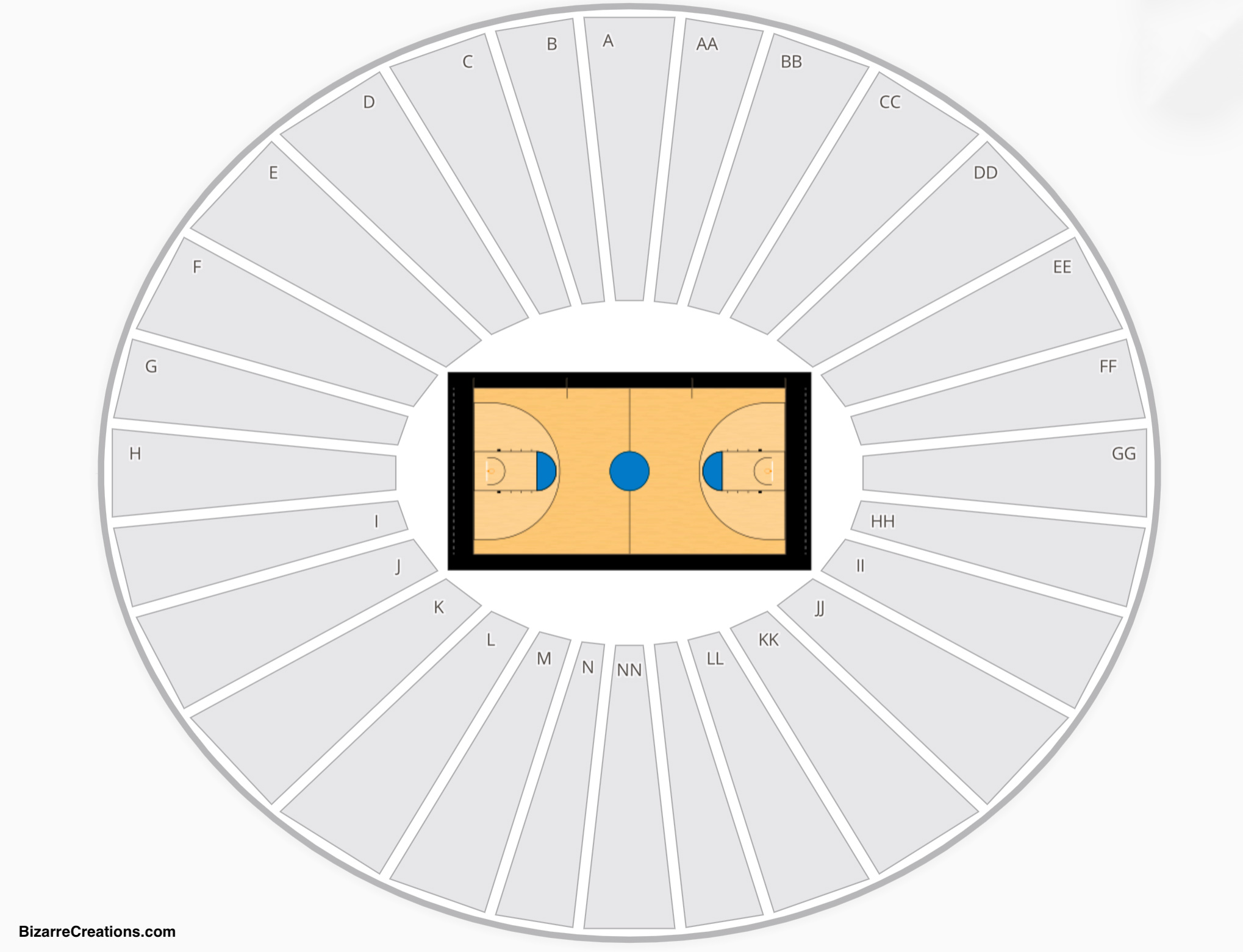 Carver Hawkeye Arena Seating Chart Seating Charts Tickets